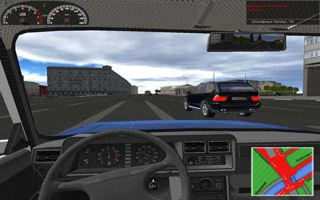 Симулятор вождения. Обзор программ 3d инструктор и виртуальный.